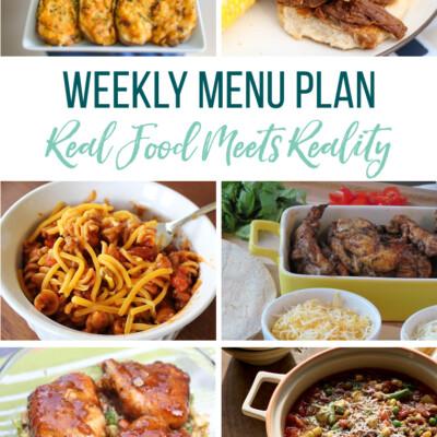 Weekly Menu Plan + Top 5 Hy-Vee Sales (10.11.18)