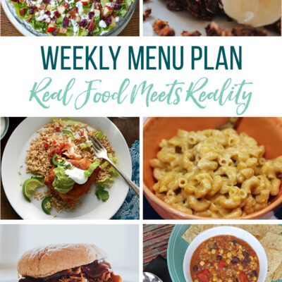 Weekly Menu Plan + Top 5 Hy-Vee Sales (10.26.18)