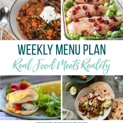 Weekly Menu Plan + Top 5 Hy-Vee Sales (10.5.18)