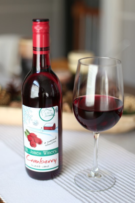 St. James Winery Cranberry Wine