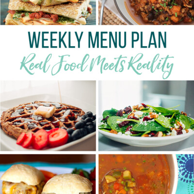 Weekly Menu Plan + Top 5 Hy-Vee Sales (11.16.18)