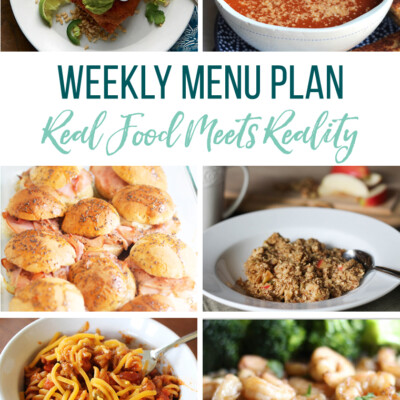 Weekly Menu Plan + Top 5 Hy-Vee Sales (11.23.18)