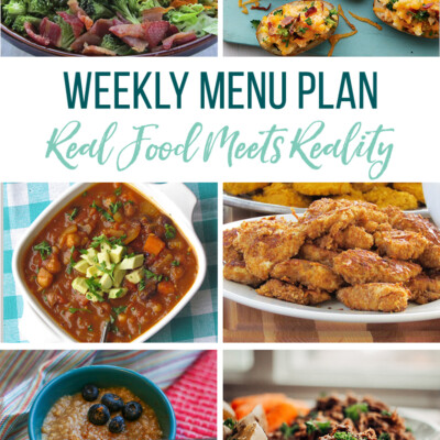 Weekly Menu Plan + Top 5 Hy-Vee Sales (11.30.18)