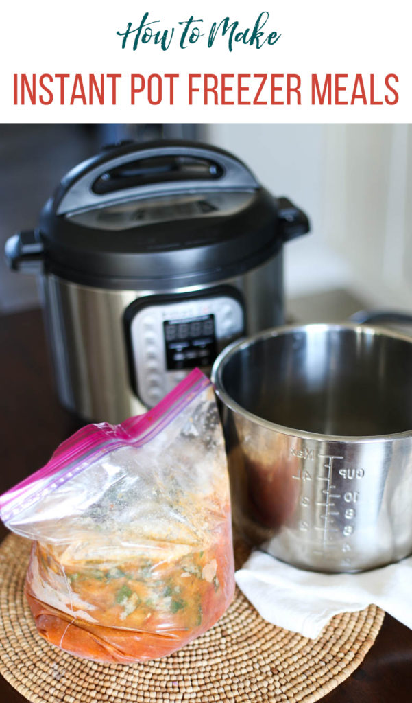 Freezer Meal and Instant Pot