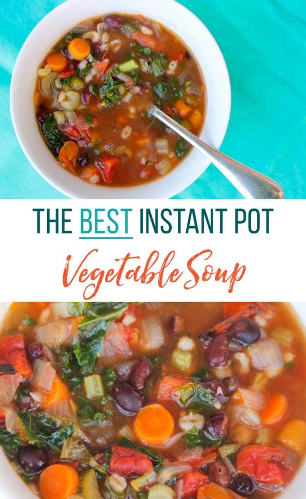 The Best Instant Pot Vegetable Soup