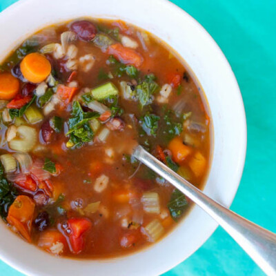 The Best Instant Pot Vegetable Soup