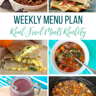 Weekly Menu Plan + Top 5 Hy-Vee Sales (12.28.18)