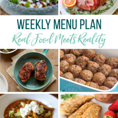 Weekly Menu Plan + Top 5 Hy-Vee Sales (12.21.18)