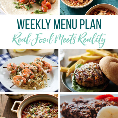 Weekly Menu Plan + Top 5 Hy-Vee Sales (1.25.19)