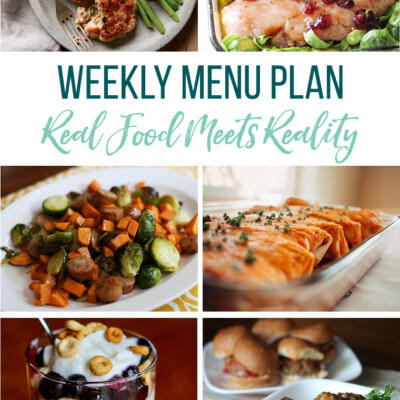 Weekly Menu Plan + Top 5 Hy-Vee Sales (1.4.18)