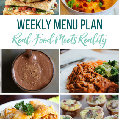 Weekly Menu Plan + Top 5 Hy-Vee Sales (1.18.19)