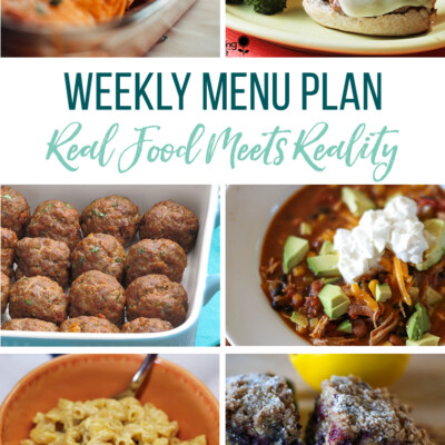 Weekly Menu Plan + Top 5 Hy-Vee Sales (3.22.19)