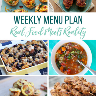 Weekly Menu Plan + Top 5 Hy-Vee Sales (3.29.19)