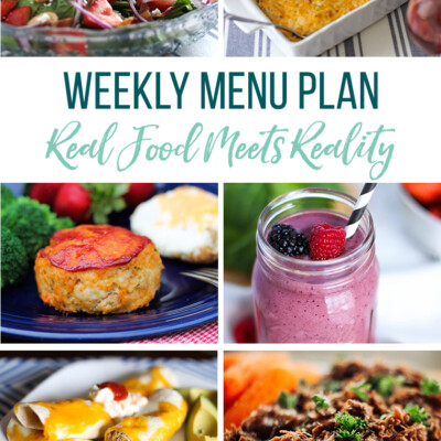 Weekly Menu Plan + Top 5 Hy-Vee Sales (4.5.19)