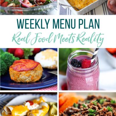 Weekly Menu Plan + Top 5 Hy-Vee Sales (4.5.19)
