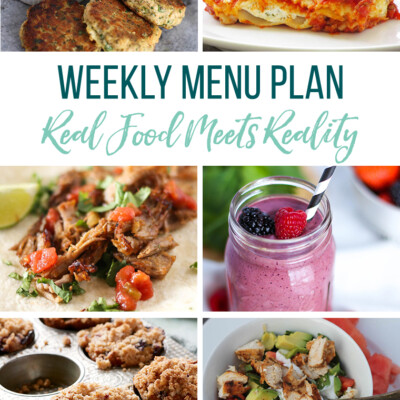 Weekly Menu Plan + Top 5 Hy-Vee Sales (4.26.19)