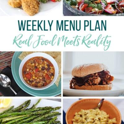 Weekly Menu Plan + Top 5 Hy-Vee Sales (5.10.19)