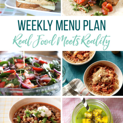Weekly Menu Plan + Top 5 Hy-Vee Sales (5.24.19)