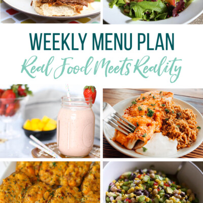 Weekly Menu Plan + Top 5 Hy-Vee Sales (May 31, 2019)