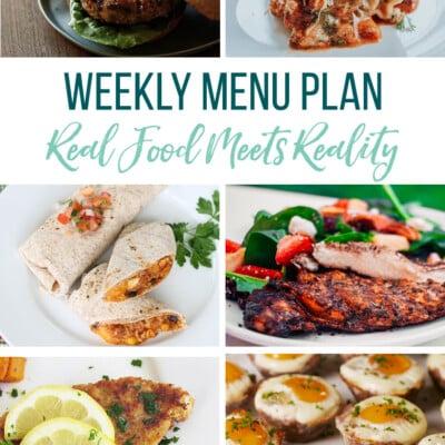 Weekly Menu Plan + Top 5 Hy-Vee Sales (5.3.19)