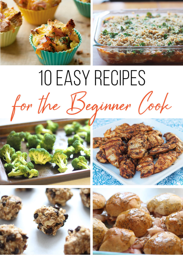 10 easy recipes