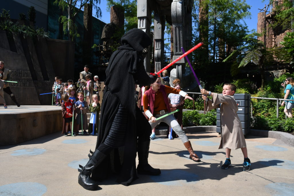 Jedi Training at Disney World