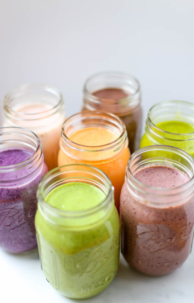 Make-ahead smoothies for babies