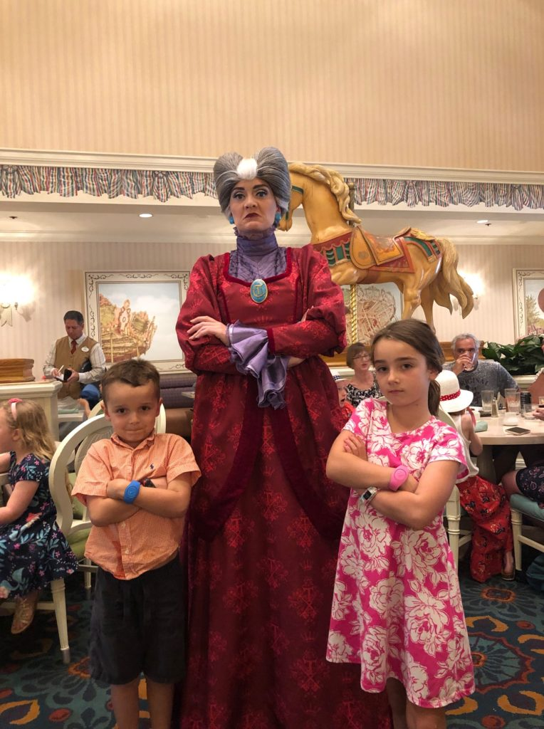 Evil stepmother at Disney World