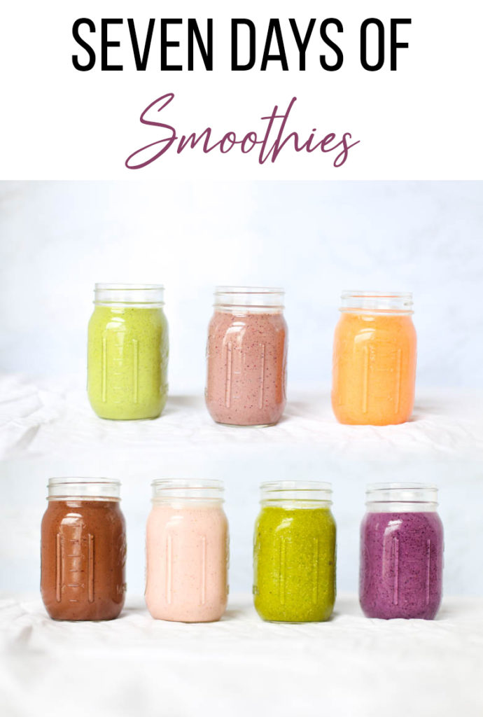 7 smoothies