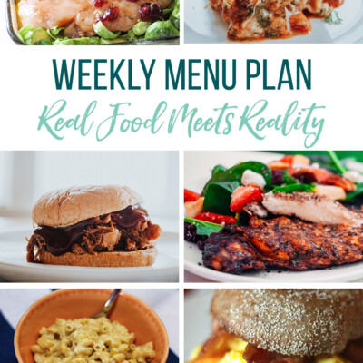 Weekly Menu Plan + Top 5 Hy-Vee Sales (6.7.19)
