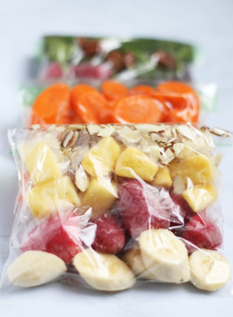 how to make freezer smoothie packs
