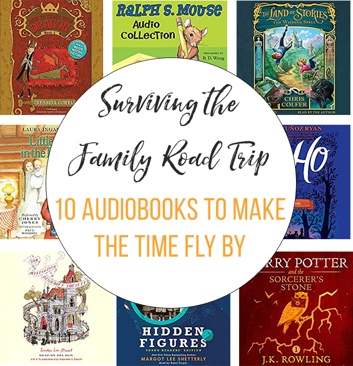 10 Audiobooks for the family road trip