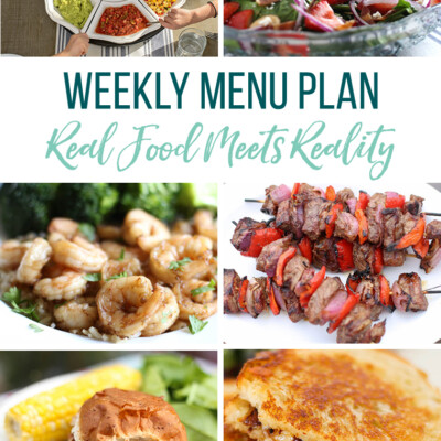 Weekly Menu Plan + Top 5 Hy-Vee Sales (7.5.19)