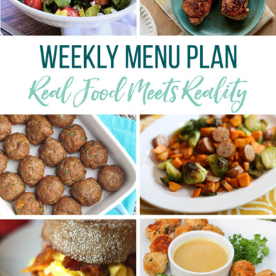 Weekly Menu Plan + Top 5 Hy-Vee Sales (7.12.19)