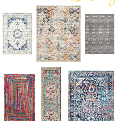 6 Rugs from Amazon I'm Loving