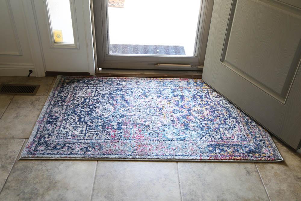 Entry way rug