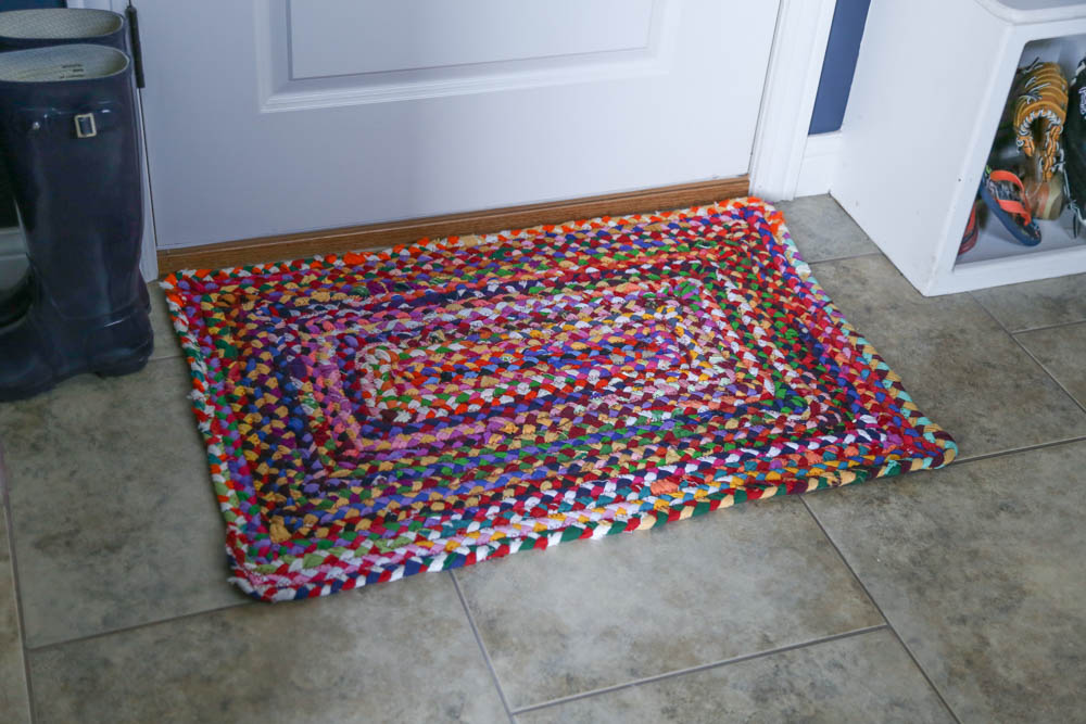 Mudroom rug from Amazon