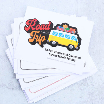 Road Trip Cards: Fun Games and Questions for the Whole Family