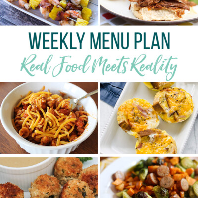 Weekly Menu Plan + Top 5 Hy-Vee Sales (8.16.19)