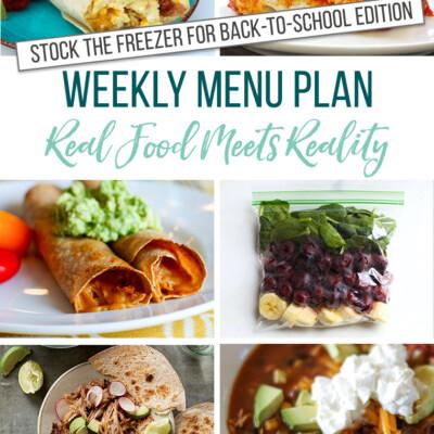 Weekly Menu Plan + Top 5 Hy-Vee Sales (8.9.19)