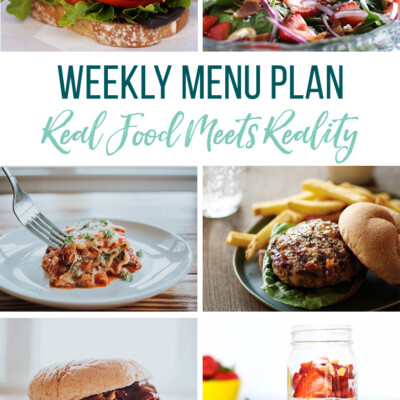 Weekly Menu Plan + Top 5 Hy-Vee Sales (8.2.19)