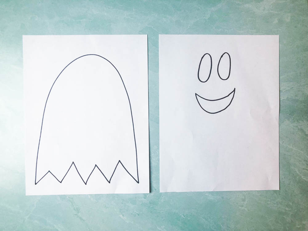 Picture of the ghost printable
