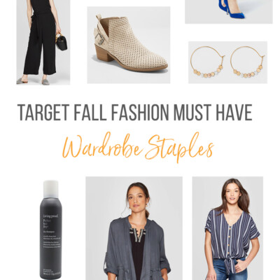 Target fall fashion pieces