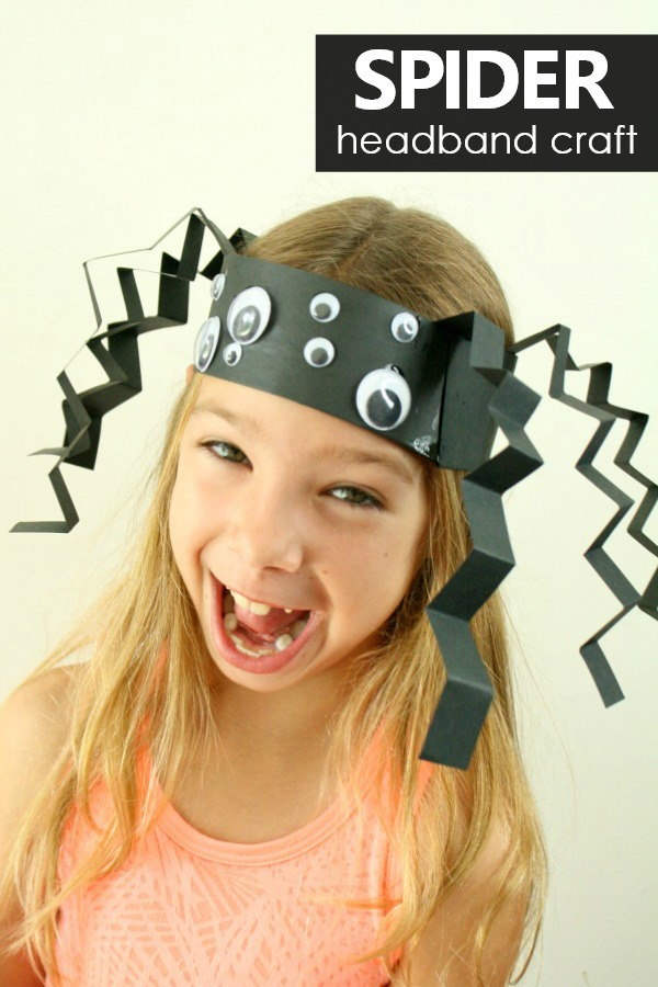 spider headband craft for kids