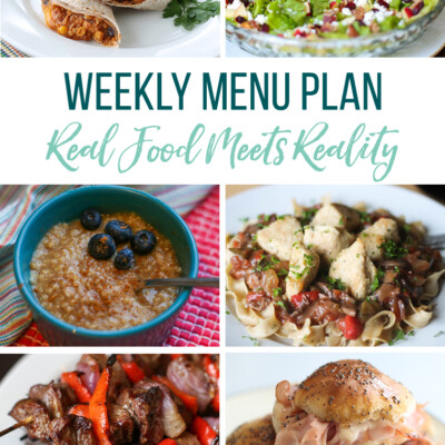Weekly Menu Plan + Top Hy-Vee Sales (9.6.19)