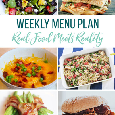 Weekly Menu Plan + Top Hy-Vee Sales (9.27.19)