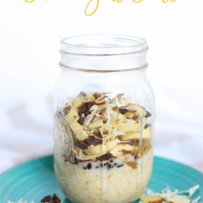 Almond Joy Overnight Oats Main image