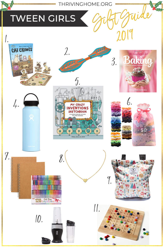 Tween girl gift guide