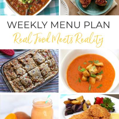 Weekly Menu Plan + Top Hy-Vee Sales (10.18.19)