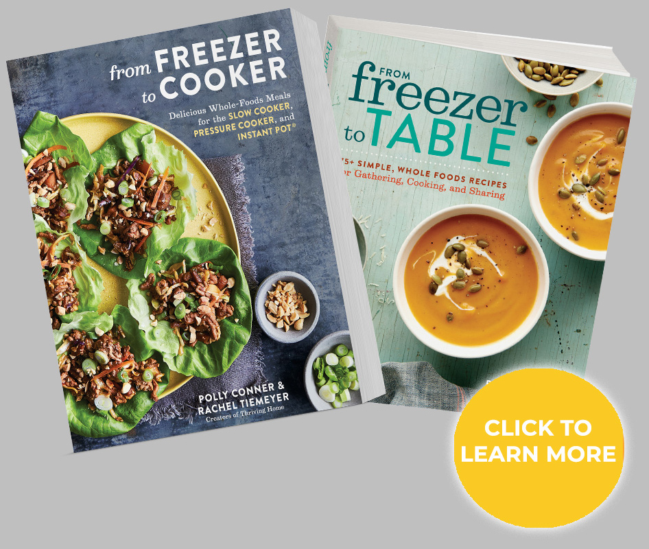 Freezer meal cookbooks - ideas for kid-friendly freezer meals